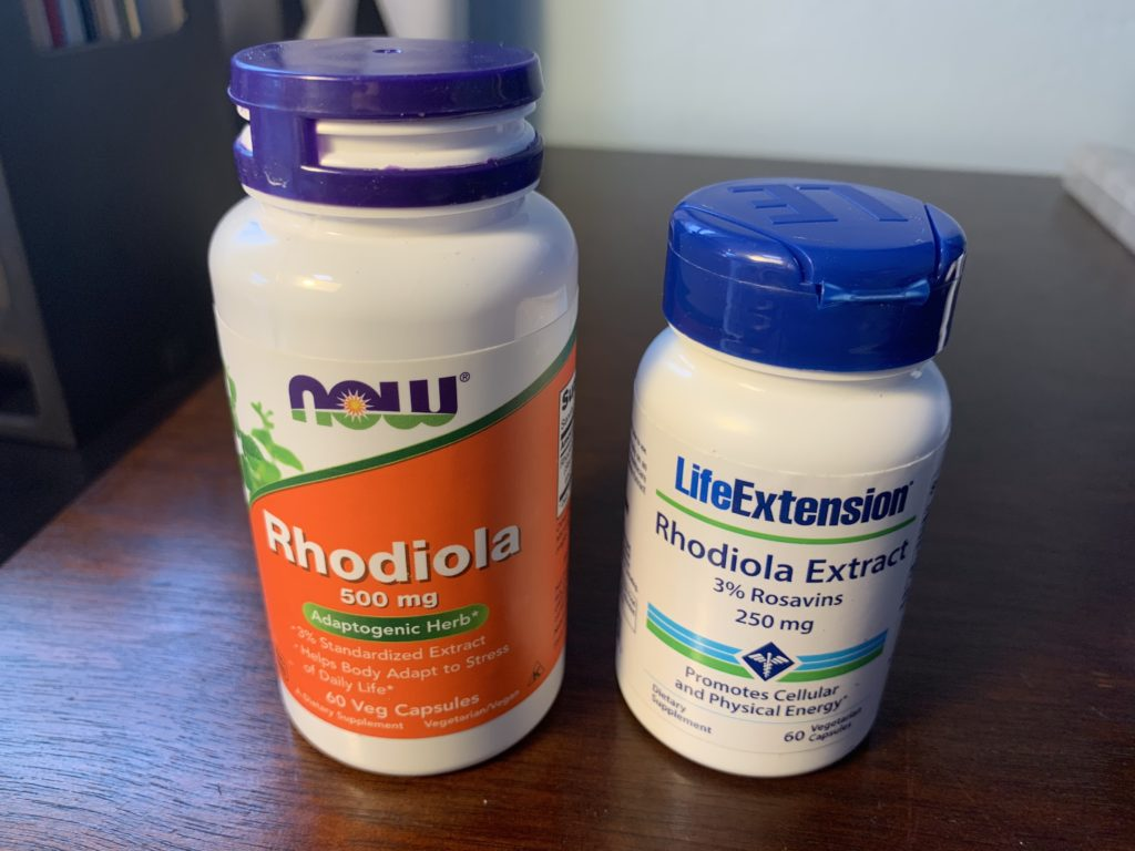 best rhodiola supplements